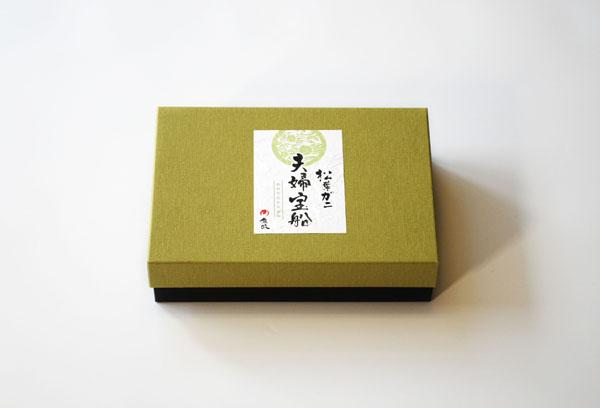 蟹ギフト箱用ラベルデザイン