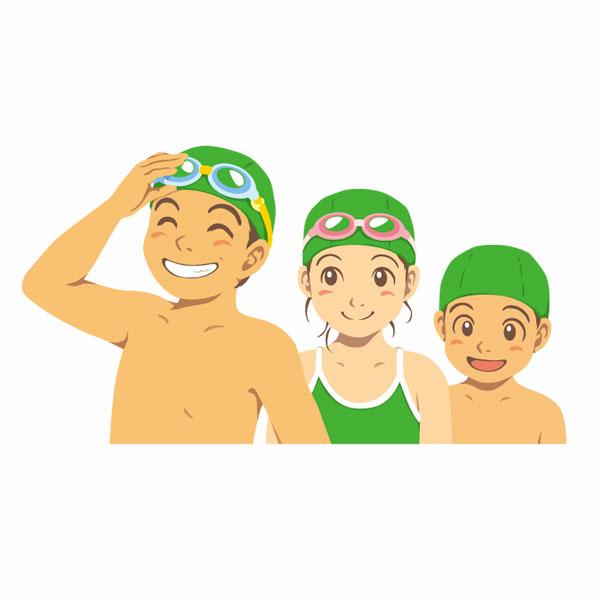 水泳教室イラスト